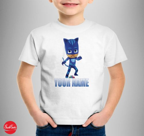 Catboy PJ Mask Personalised T-shirt